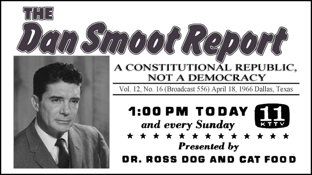 "The Dan Smoot Report [1966]: ""A Republic, Not a Democracy"""