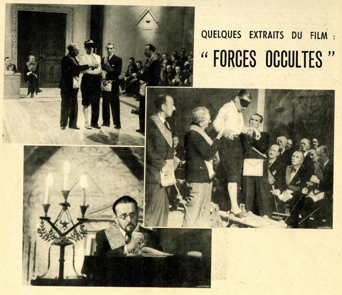 "Jean Mamy's Anti-Masonic Propaganda Film, ""Forces occultes"" (1943) | Nat. Soc. and Fascists onFreemasonry"