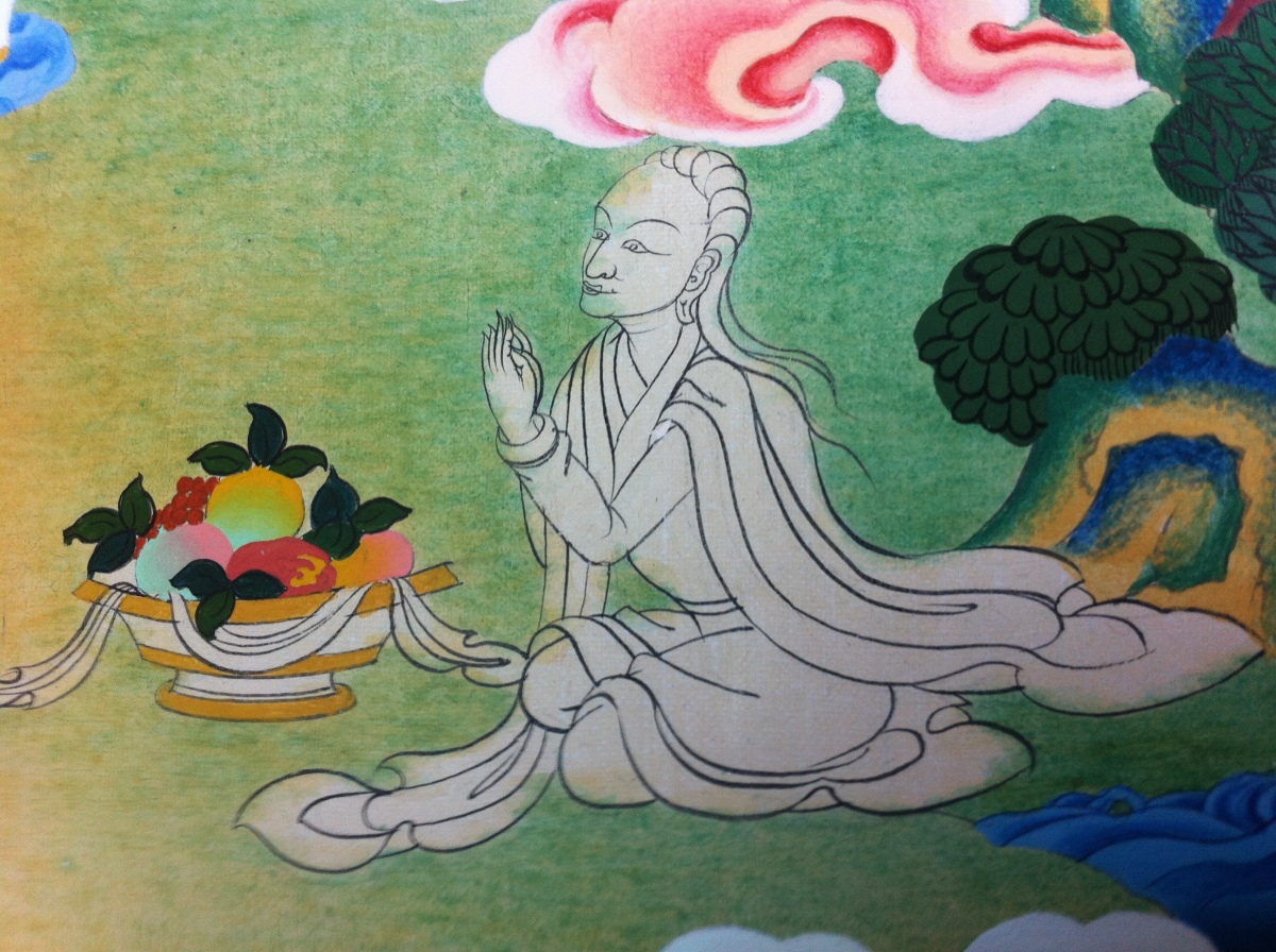 From the Holy Text of Tibetan Buddhism: Sixty Songs of Milarepa