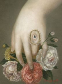 Fatima Ronquillo, Hand with Roses and Lover's Eye